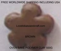 Figurine clay, Fimo, Sculpey, Polymer clay 500g,  Free worldwide shipping